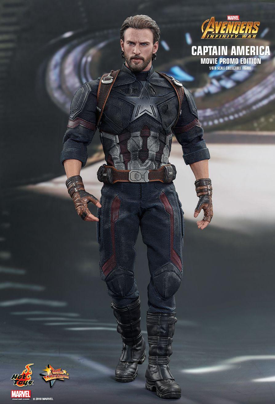 Wakanda Shield Hot Toys 1//6 MMS480 Avengers Infinity War Captain America