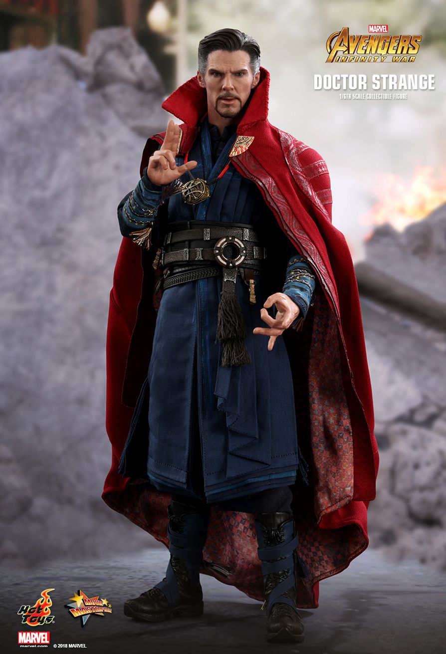 Genuine Hot Toys Avengers Infinity War doctor strange Cosbaby toy FIghting Ver