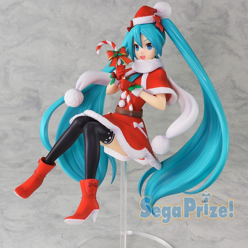 Hatsune Miku Christmas 2018.New Sega Hatsune Miku Spm Figure Christmas Ver 57 1