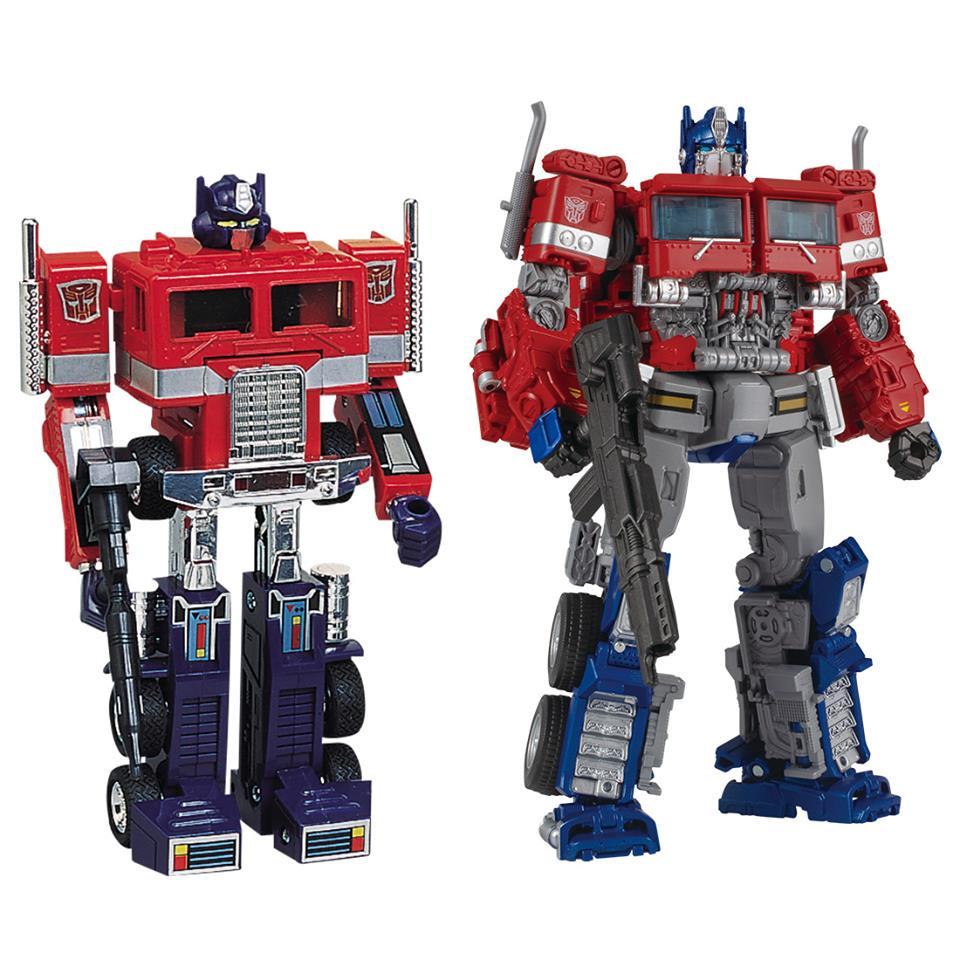 Pre order * Convoy & Optimus Prime Set Transformers 35th